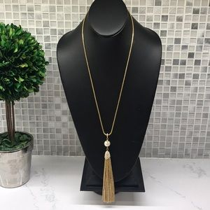 Vince Camino New (c) Gold tassel Necklace